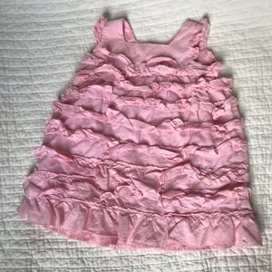 Other - Pink ruffle baby girl dress